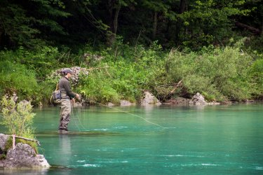 Ribolov v destinaciji Bovec
